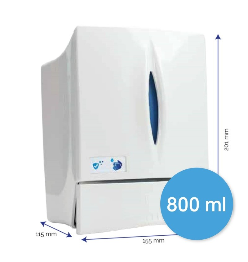 Distributeur de gel hydroalcoolique mural P9103 - Distributeur à partir de 12.81€