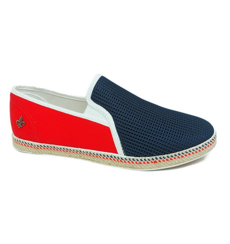 Espadrille Slip On Bi-Couleur Junior PRIME BI Jr - BLACK SAINTS