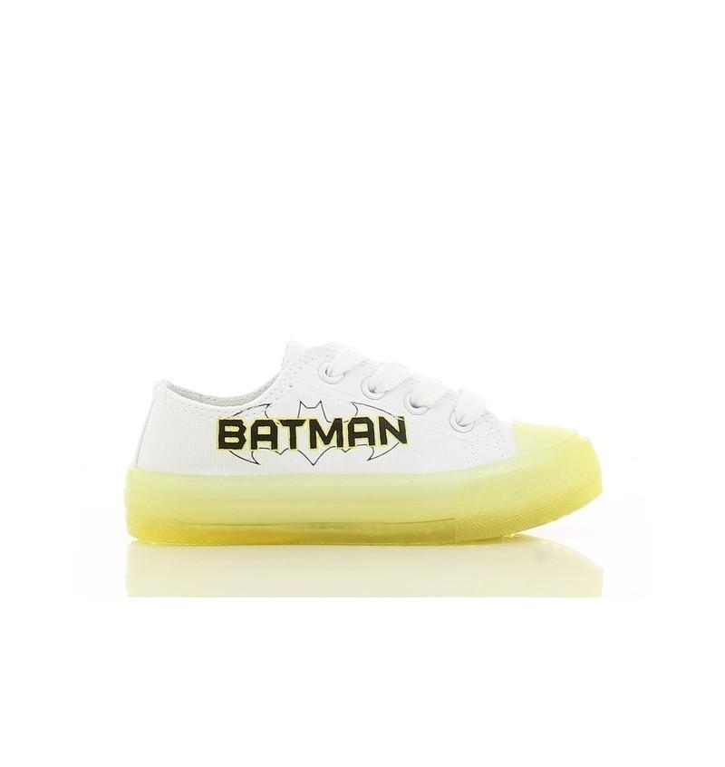 Basket Enfant Blanc BATMAN BM01 BM001063 - BATMAN P0023