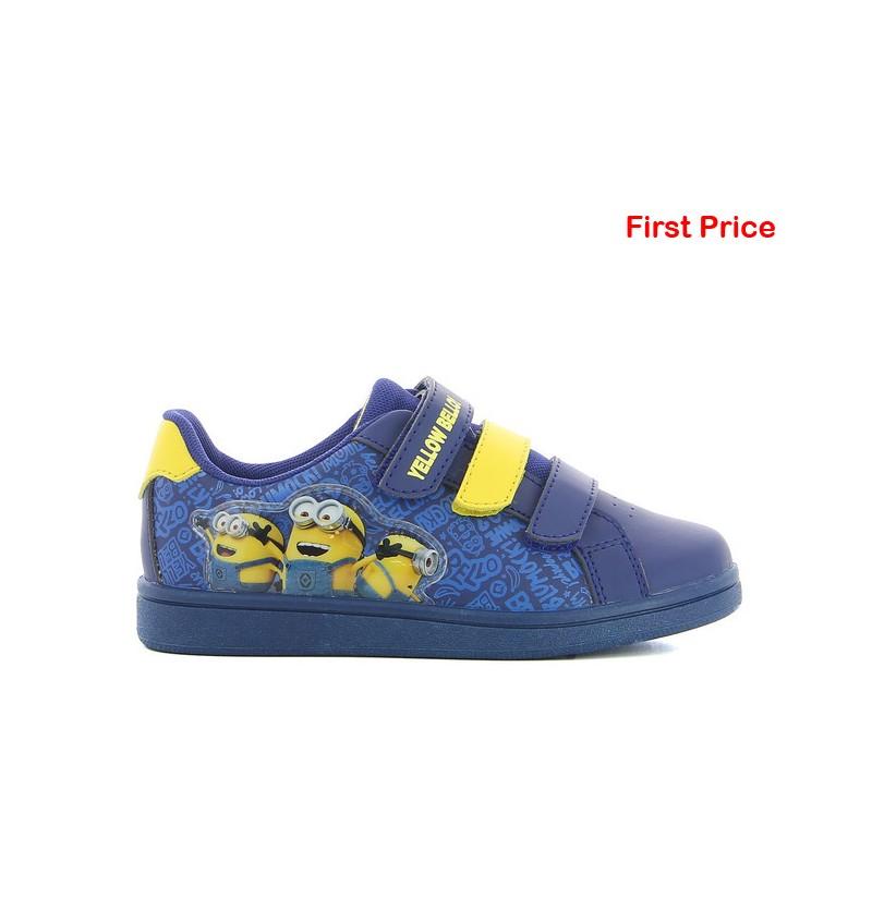 Basket Enfant Bleu MINIONS MN3 DE001580 - MINIONS B2124
