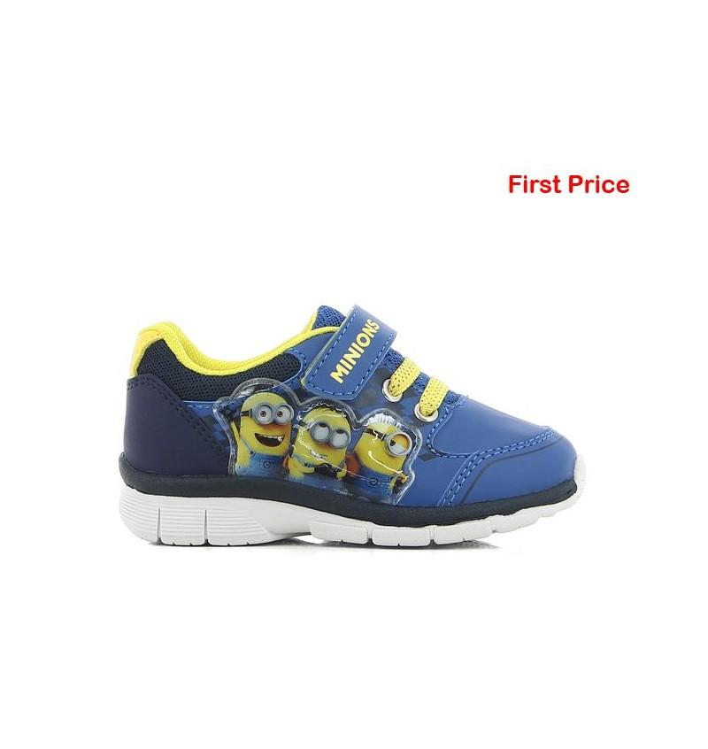 Basket Enfant Bleu MINIONS MN5 DE002990 - MINIONS B2124