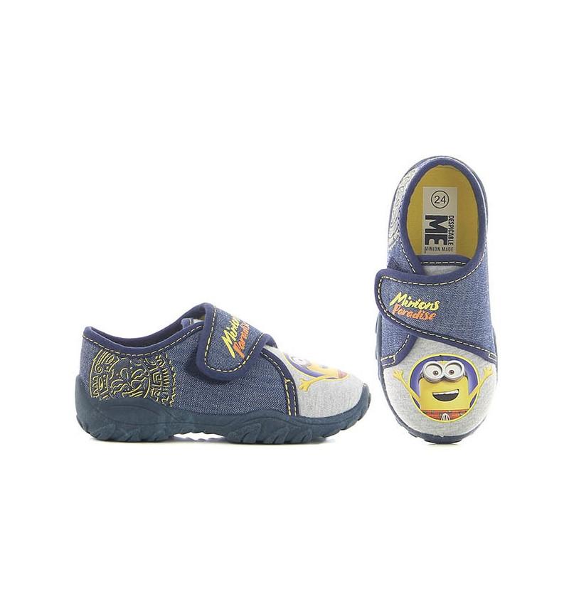 Basket Enfant Bleu MINIONS MN8 DE002303 - MINIONS B0547