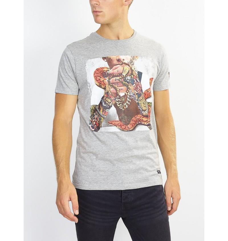 Tee-Shirt Imprimé Tatouage MTS-149MAHONEY - BRAVE SOUL