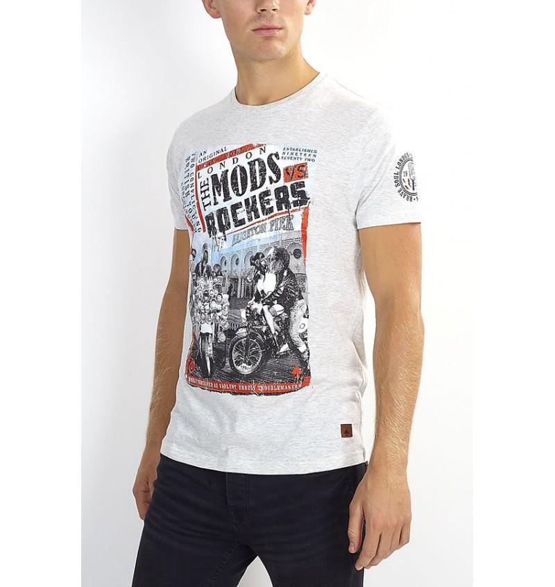 Tee-Shirt Imprimé Rockers MTS-149YOUTH - BRAVE SOUL