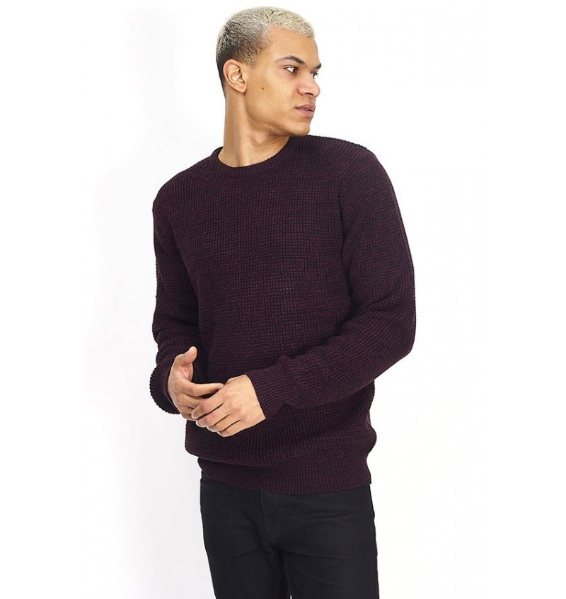 Pull col Rond Tricotage Double Fil MK-230NEUTROND - BRAVE SOUL