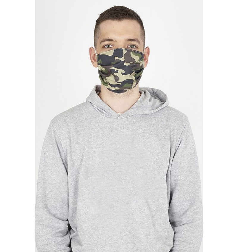 Masque Imprimé Camouflage