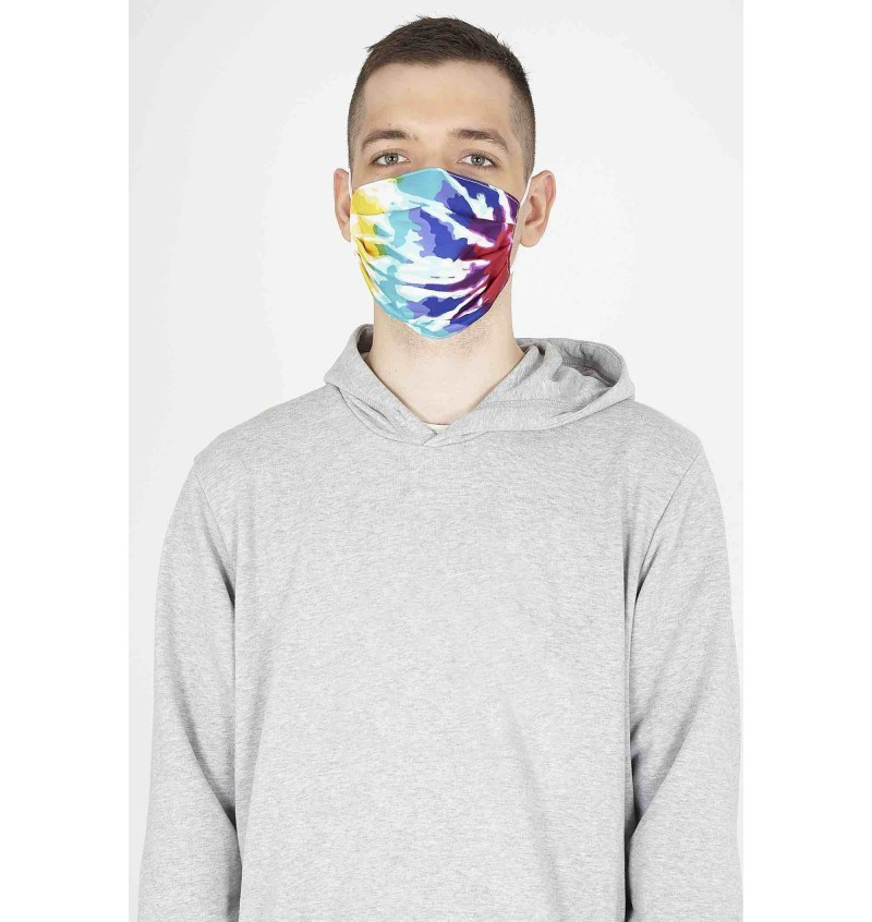 Masque Protection Homme Imprimé Tie And Dye MSK-272TIEDYE - BRAVE SOUL