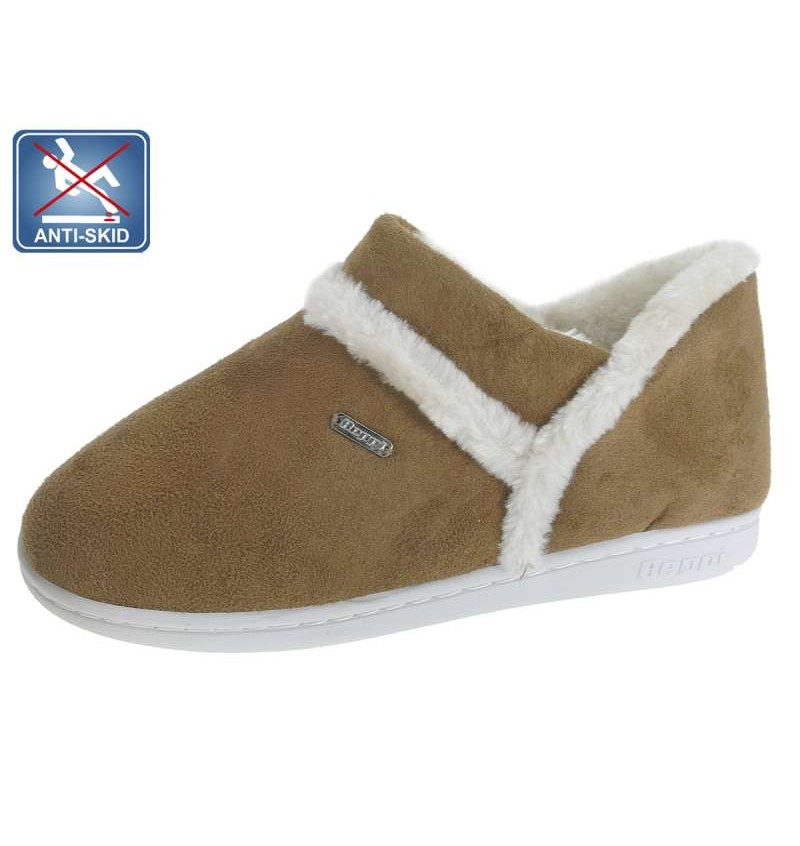 Chaussures D'intérieur /Femme Camel BEP1 13B2181560 - BEPPI