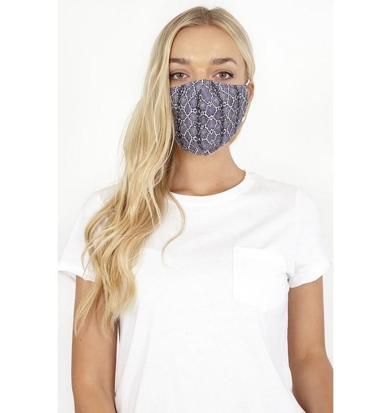 Masque Protection Homme/Femme Imprimé Serpent LMSK-272SNAKE - BRAVE SOUL