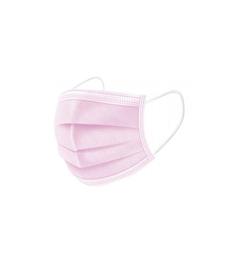 Masque Médical Chirurgical Type 1 ROSE PAR 2000 MASQUE TYPE1 ROSE /2000