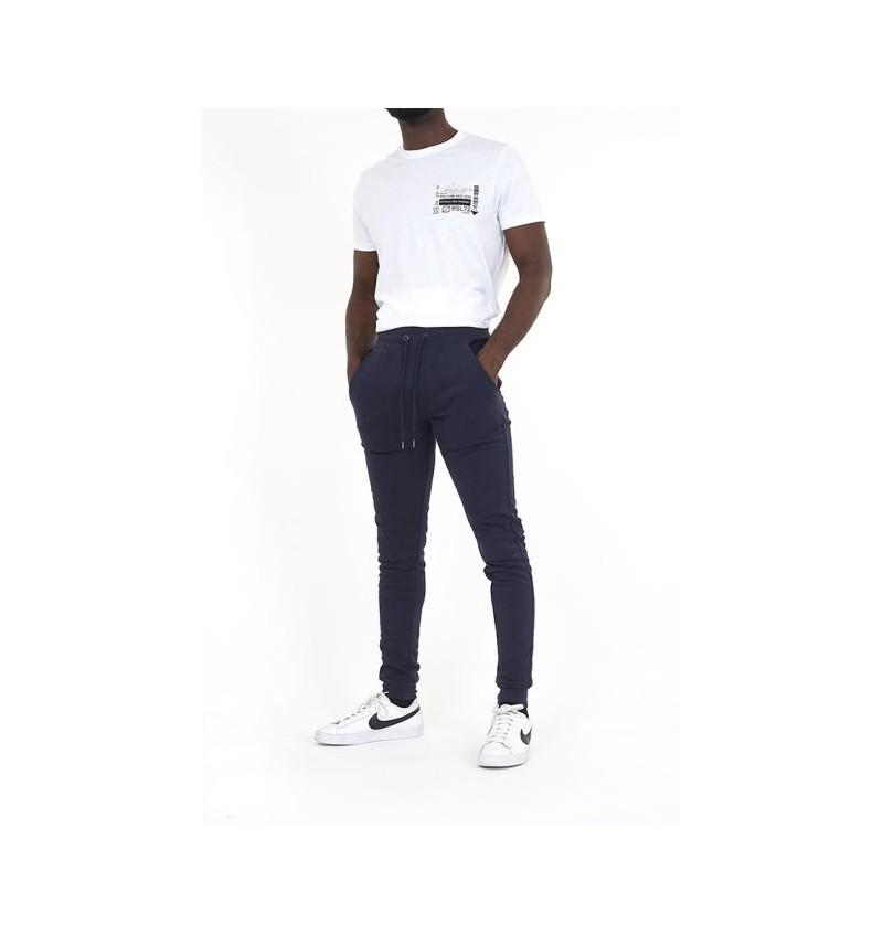 Pantalon Jogging Marine Skinny MJB-69MARTELL2 - BRAVE SOUL