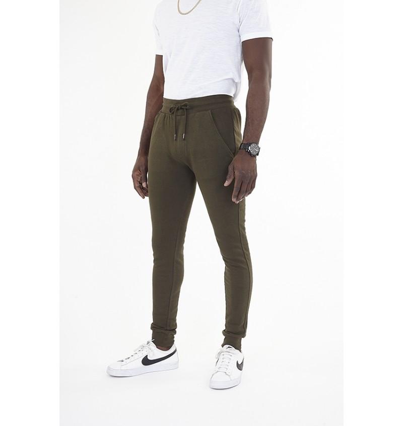 Pantalon Jogging Kaki Skinny Pour Homme MJB-69MARTELL5 - BRAVE SOUL