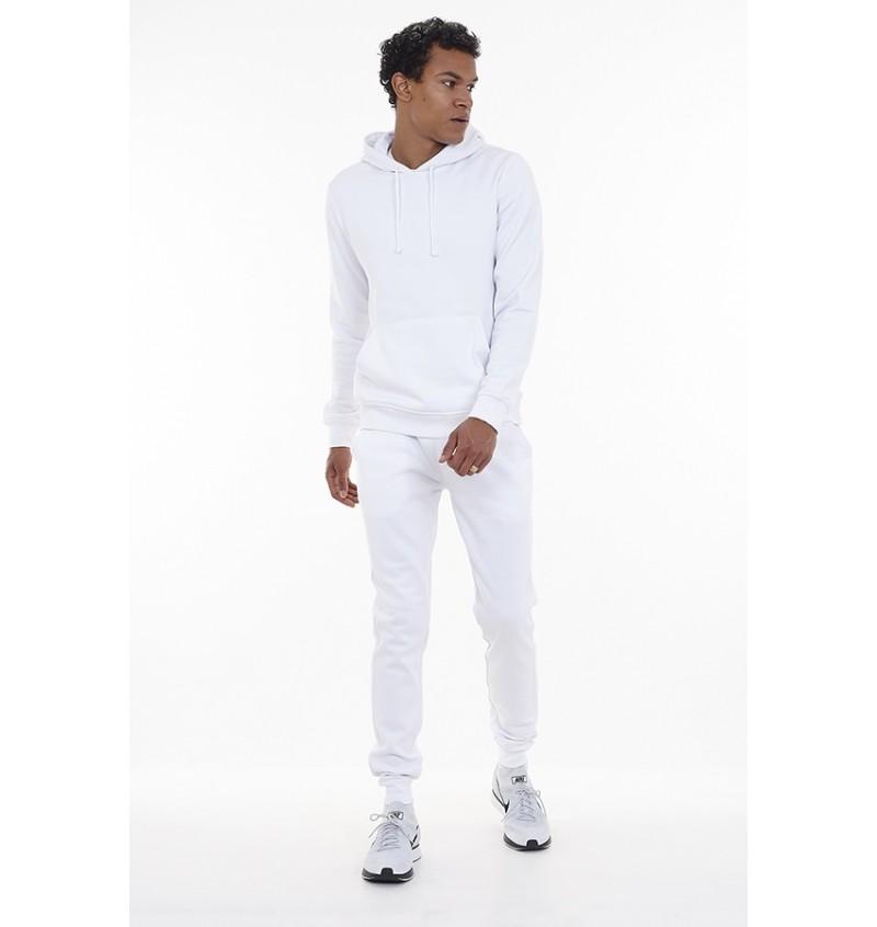 Pantalon Jogging Blanc Skinny Pour Homme MJB-69MARTELL6 - BRAVE SOUL