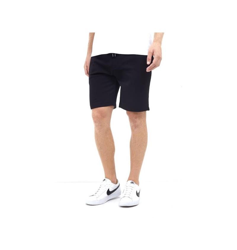 Short Jogging Molleton Noir Pour Homme MSRT-69TARLEY1 - BRAVE SOUL