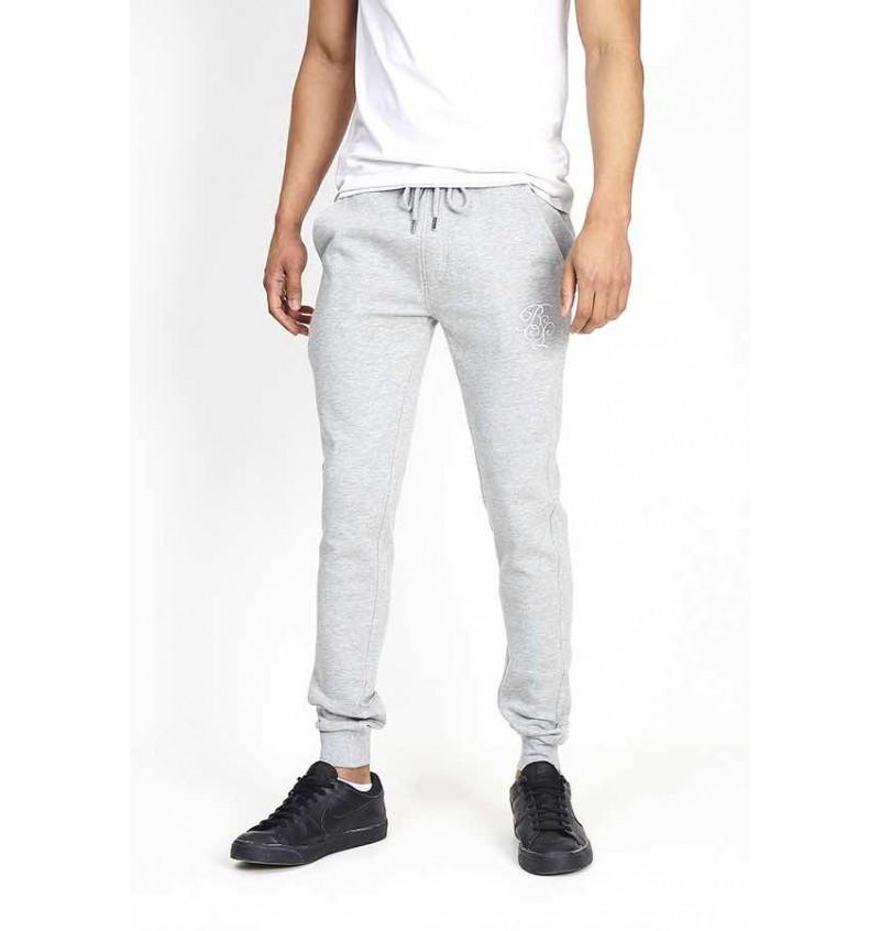 Pantalon Jogging Skinny Pour Homme Broderie BS MJB-69LANCELOT - BRAVE SOUL