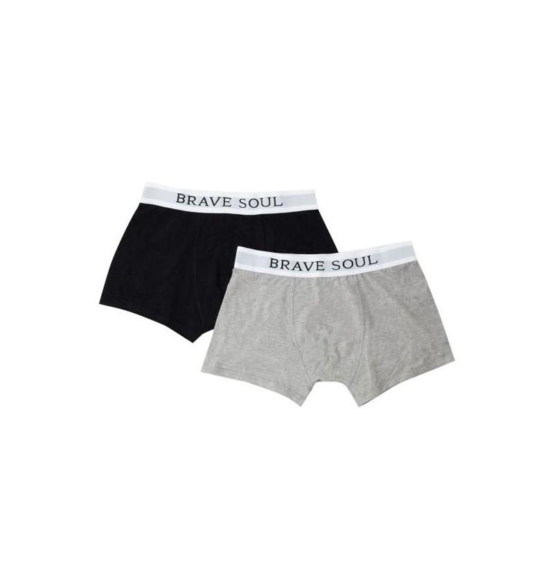 Lot De 2 Boxers MBX-18ALIB - BRAVE SOUL