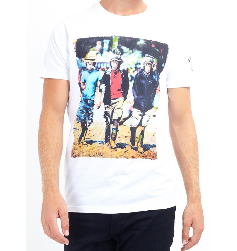 Tee-shirt  MTS-69DOODLE - BRAVE SOUL