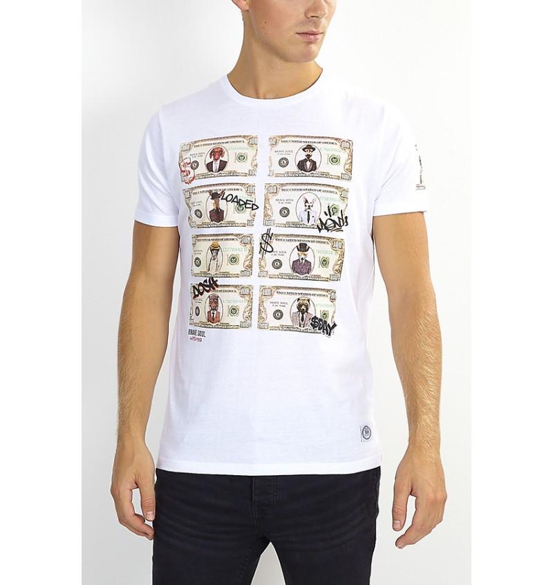 Tee-Shirt Money  MTS-149MYTHICAL - BRAVE SOUL