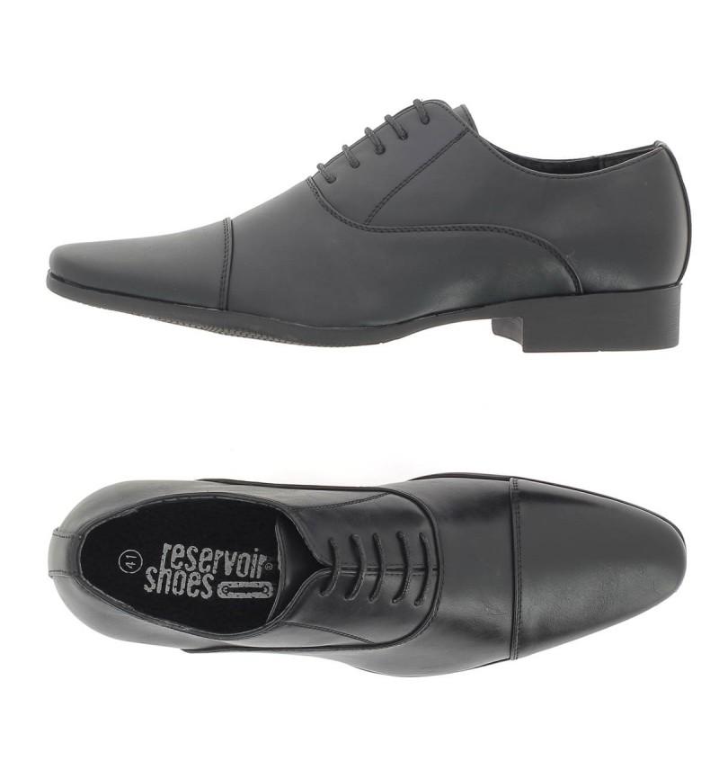 Chaussures A Lacet Noir M4162A JARON - RESERVOIR SHOES