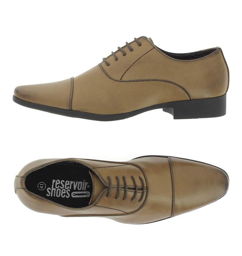 Chaussures A Lacet Marron M4162G JARON - RESERVOIR SHOES