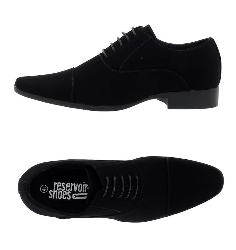 Chaussures Lami Noir A Lacet M4162C JARON - RESERVOIR SHOES