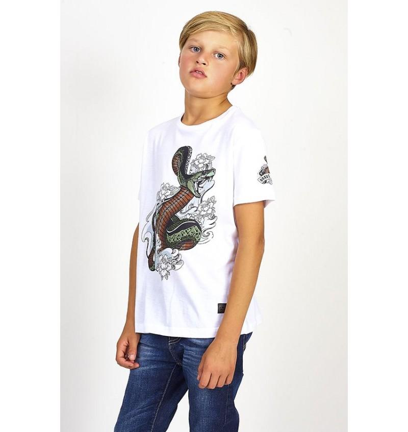 Tee-shirt Enfant Serpent BTS-149HABU - BRAVE SOUL