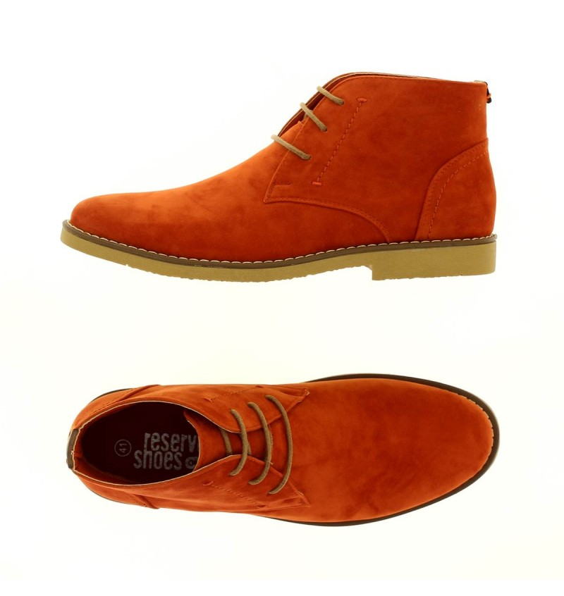 Boots orange M2721O COLINE - RESERVOIR SHOES