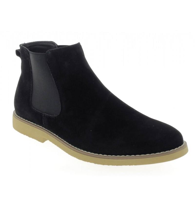 Chelsea Boots noir M2723C DOREN - RESERVOIR SHOES