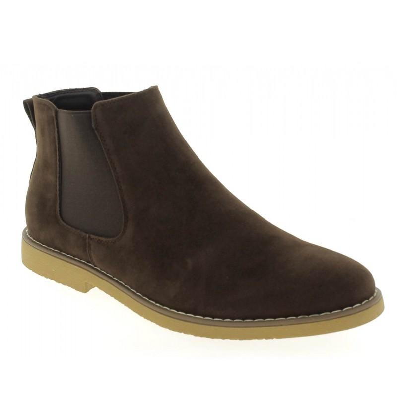 Chelsea Boots choco M2723D DOREN - RESERVOIR SHOES