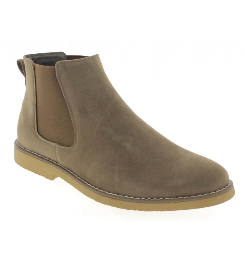 Chelsea Boots Taupe M2723M Doren - Reservoir Shoes