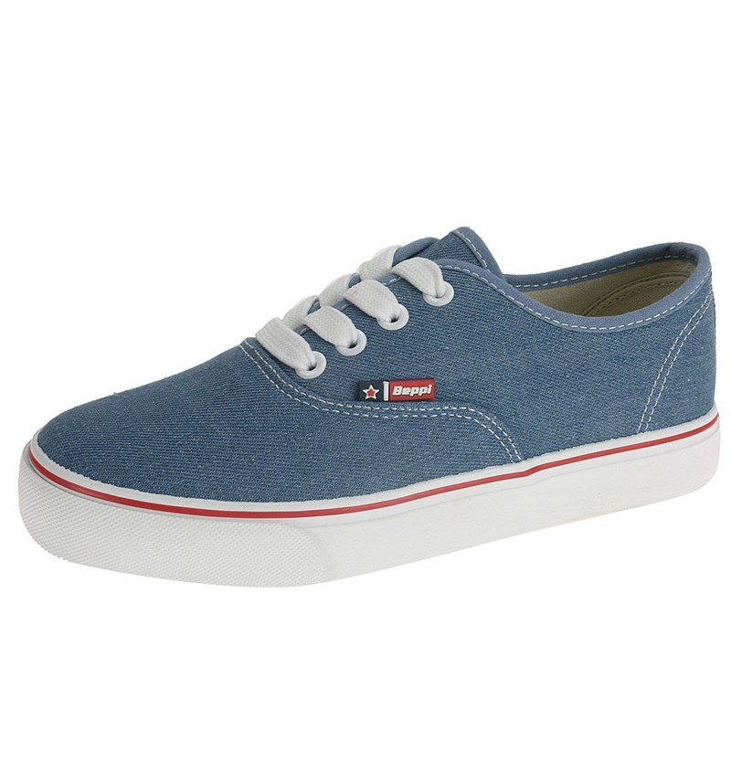 Basket Denim Bleu 2173090 - BEPPI WAY