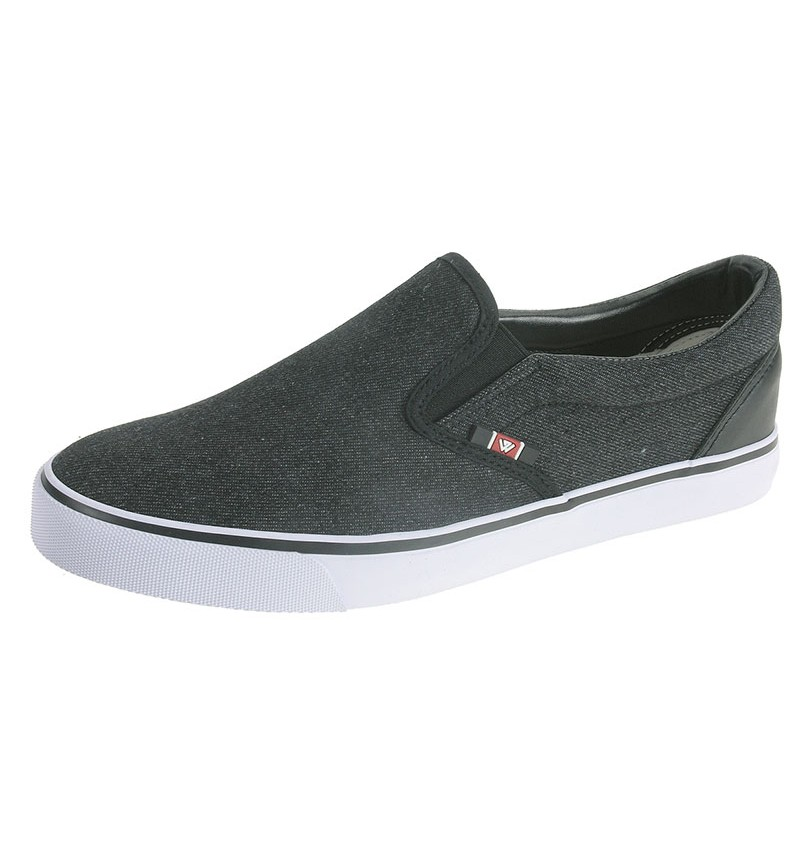 Basket Slip On En Denim Noir 2170101 - BEPPI WAY