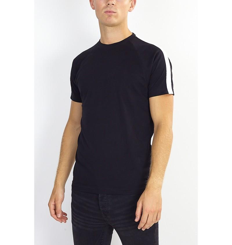 Tee-Shirt Bande Epaule MTS-69JOHAND - BRAVE SOUL