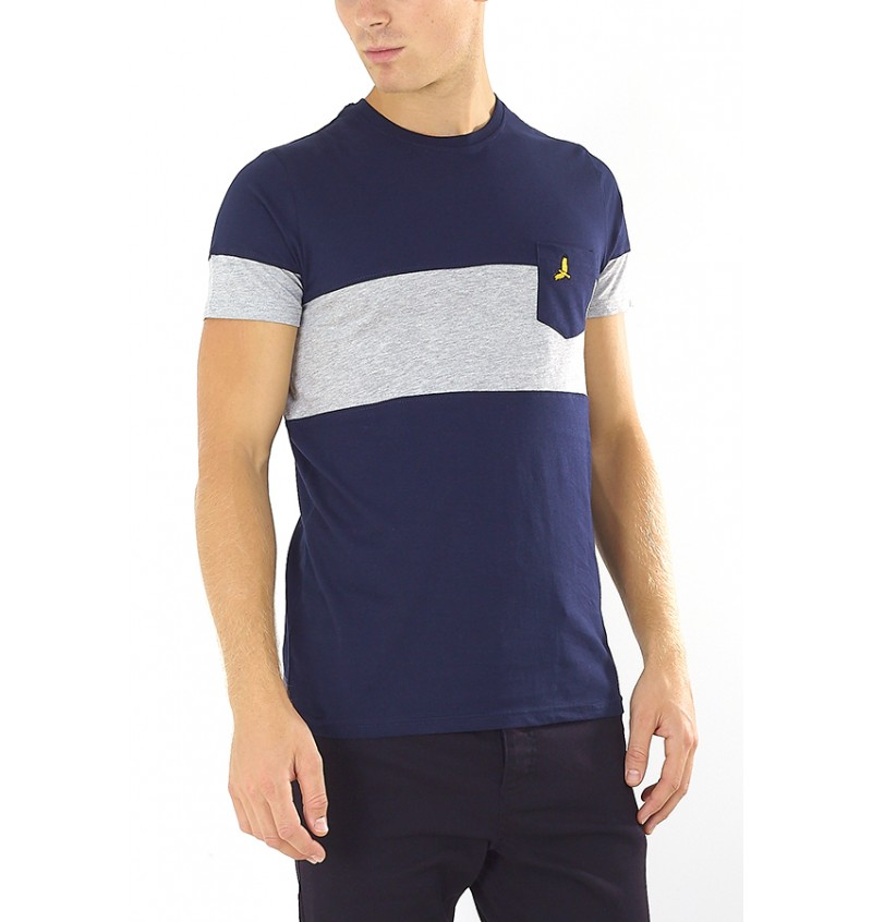 Tee-Shirt Poche poitrine MTS-162PIOUSB - BRAVE SOUL