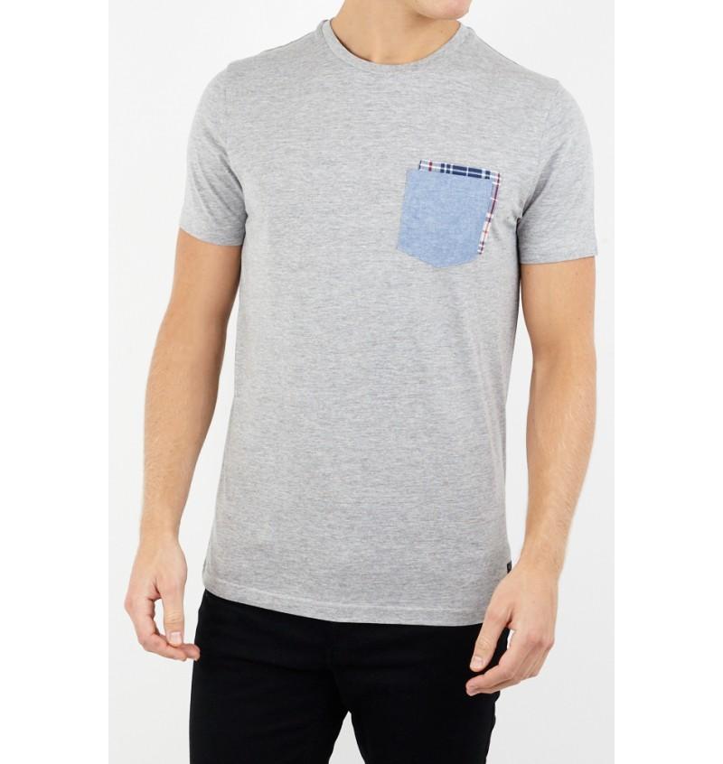 Tee-Shirt Poche Poitrine MTS-69GLOVER - BRAVE SOUL