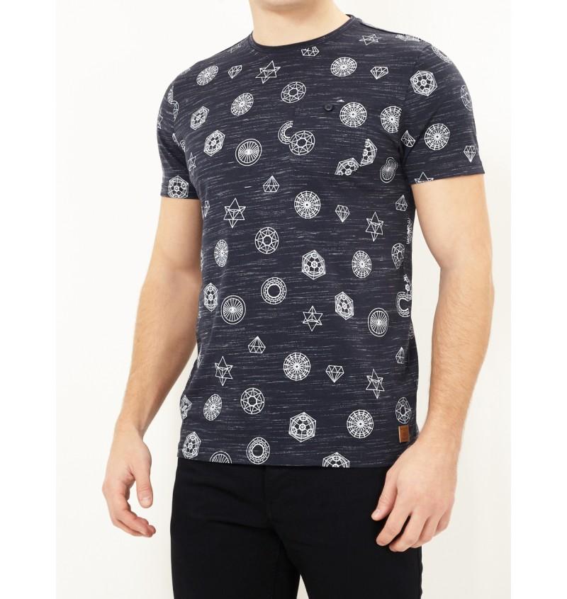 Tee-Shirt Imprimé Symbol MTS-69PORTAL - BRAVE SOUL
