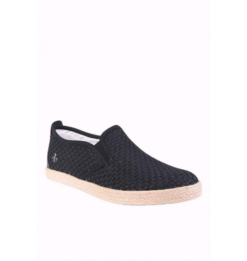 Espadrille Slip On Noir ARNOLD802-N - BLACK SAINTS