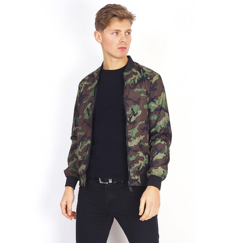 Blouson  Imprimé Camouflage MJK-EDUARDO - BRAVE SOUL