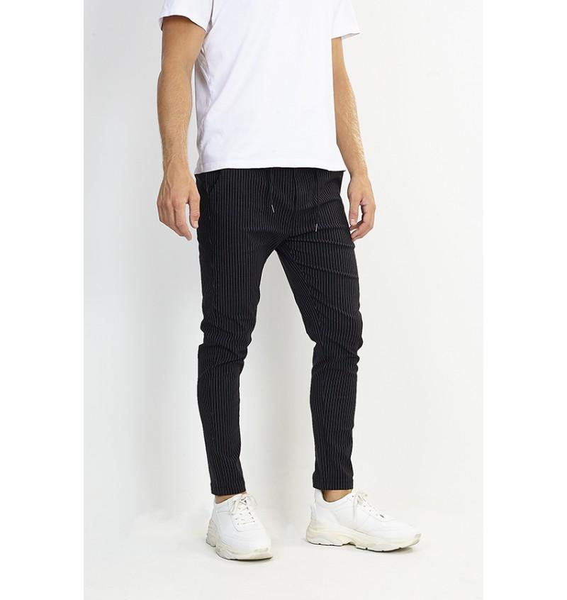 Pantalon Slim Fit Rayé MTR-BUCK - BRAVE SOUL
