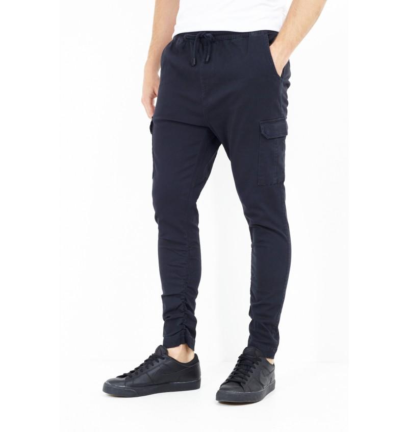 Pantalon Multipoches Stretch Uni MTR-HADDONPKB - BRAVE SOUL