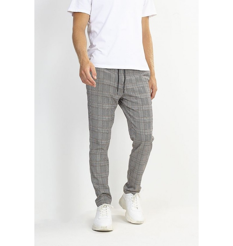 Pantalon A Carreaux Casual MTR-COLTON - BRAVE SOUL
