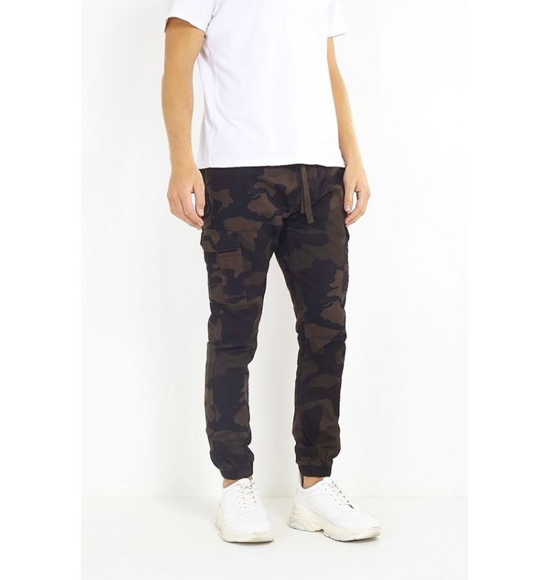 Pantalon Cargo Camouflage MTR-FINECAMOCRGO - BRAVE SOUL