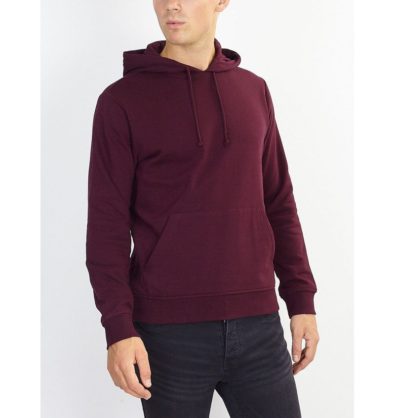 Sweat A Capuche Bordeaux MSS-131CLARENCES - BRAVE SOUL