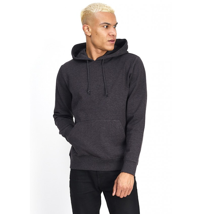 Sweat A Capuche Anthracite MSS-131CLARENCER - BRAVE SOUL