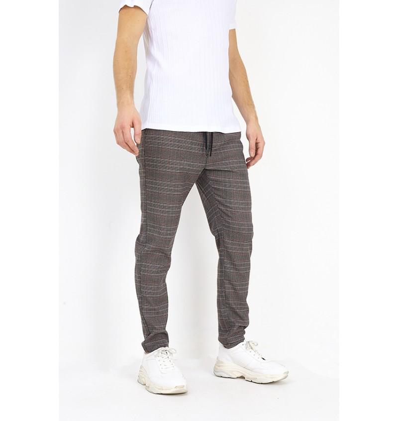 Pantalon Carreaux Homme BS1 MTR-AYERS - BRAVE SOUL