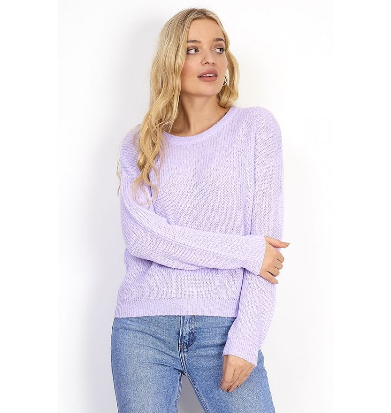 Pull Femme Tendance Col Rond BS1 LK-230WILLOW - BRAVE SOUL